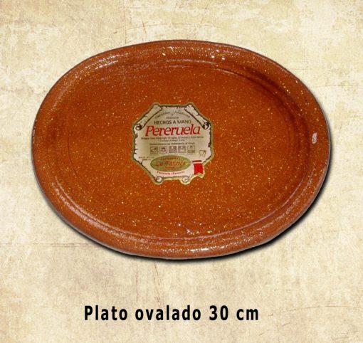 plato Ovalado 30 cm