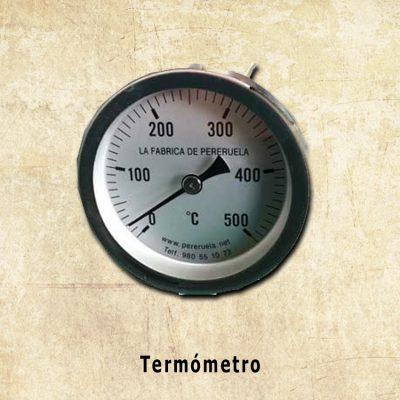 termometro horno de barro pereruela