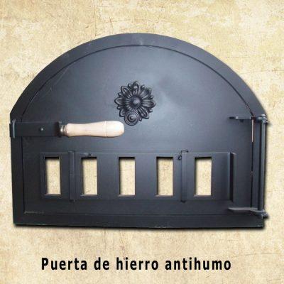 puerta hierro horno pereruela