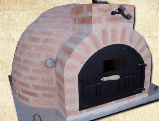 horno montado ladrillo 85 centímetros