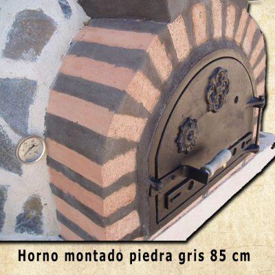 horno piedra gris H-85