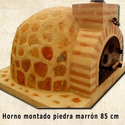 horno piedra marron HMPM-85