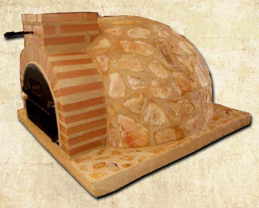 horno piedra marron HMPM-90